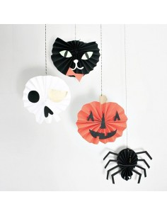 Decoración de papel de Halloween