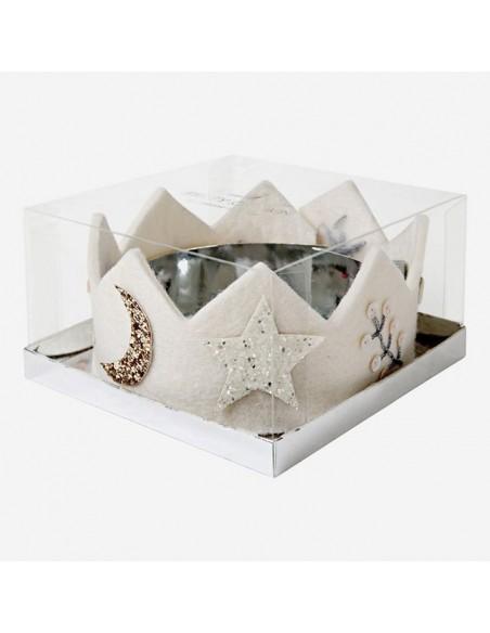 Corona de Fieltro Navidad