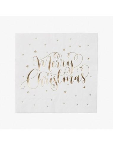 Servilletas Merry Christmas / 20 uds