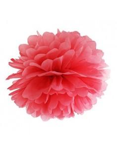 Pompón rojo 35 cm
