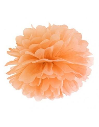 Pompón naranja 35 cm