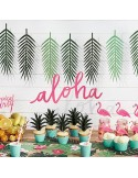 "Guirnalda letras ""Aloha"" fiesta tropical"