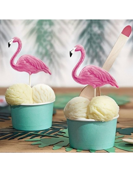 Toppers Flamingo tropical