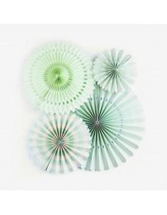 Kit Abanicos Mint / 4 uds.