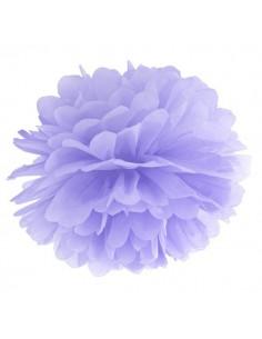 Pompón lila 35 cm
