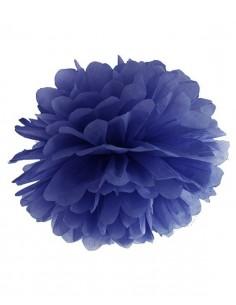 Pompón azul marino 35 cm