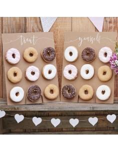 Stand donuts kraft / 2uds