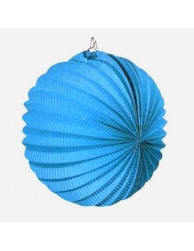 Farol de Papel Azul