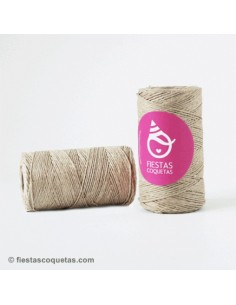 Cordón rústico natural 2 Mts