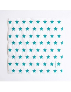 Servilletas estrellas azul / 20 uds.