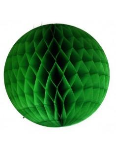 Bola nido abeja 30 cm: Verde Oscuro