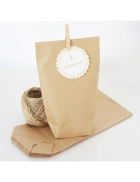 Bolsas de papel Kraft / 10 uds.