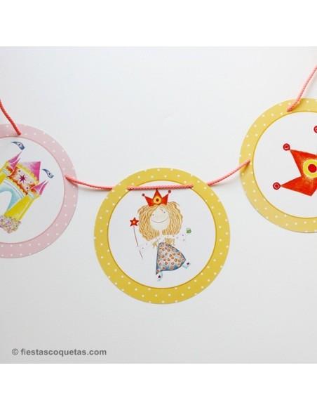 Economy Kit Princesa para 8 niñas