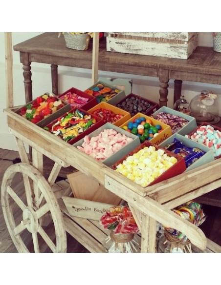 Carrito Madera Candy Bar *Alquiler*