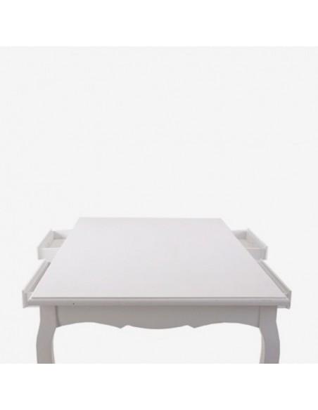 Mesa Blanca estilo Romántico *Alquiler*