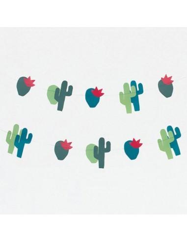 Guirnalda Cactus de Papel