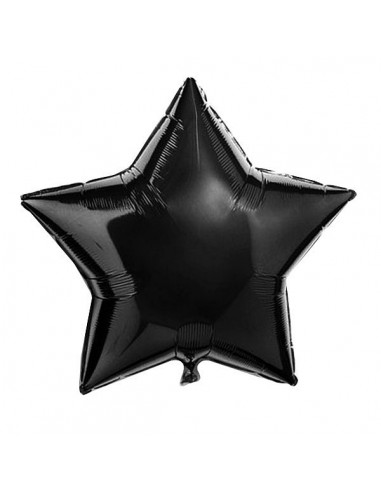 Globo Mylar Estrella Negra