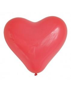 Globos Corazón Rojo/ 2uds