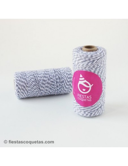 Baker's Twine Gris 5 Mts