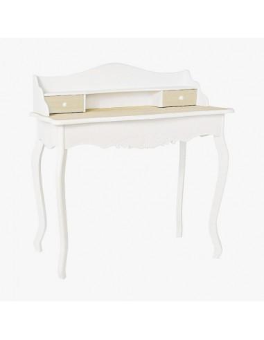 Consola escritorio madera blanca para bodas
