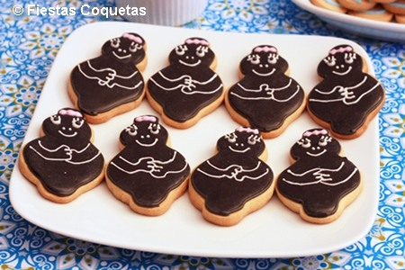 Galletas decoradas barbapapas