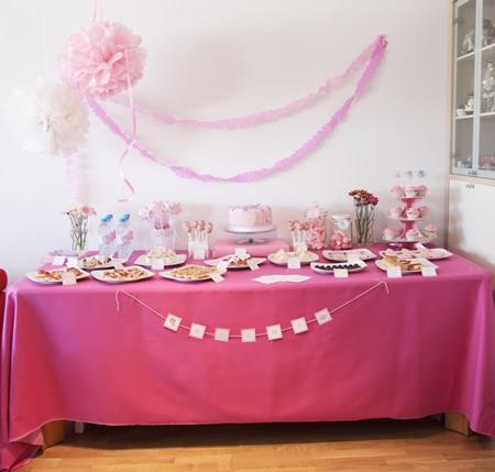 Mesa dulce temática princesas