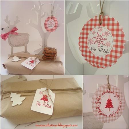 Targetas de Navidad de Maria Calcetines