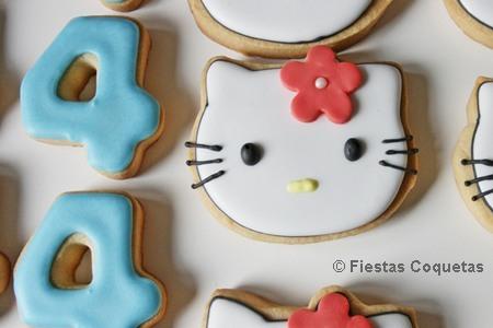 Galletas decoradas de la Hello Kitty