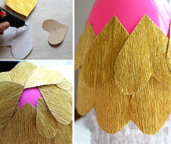Tutorial para hacer una piñata cohete