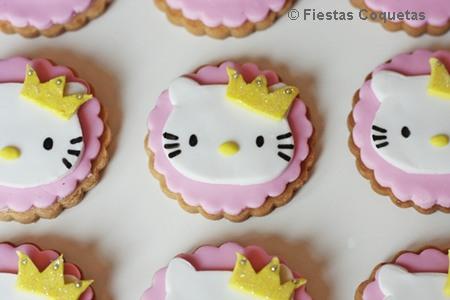 Galletas decoradas hello kitty