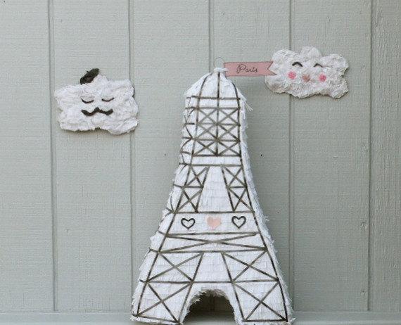Piñata Torre Eiffel