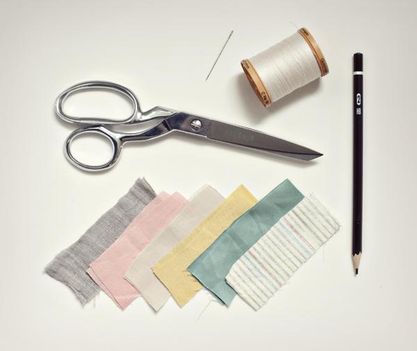 Tutorial para crear una guirnalda de tela.