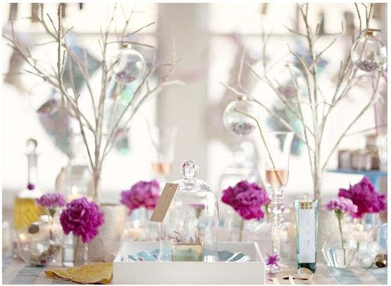 Ideas para decorar la mesa de navidad fiestas coquetas blog - Decorar la mesa de navidad ...