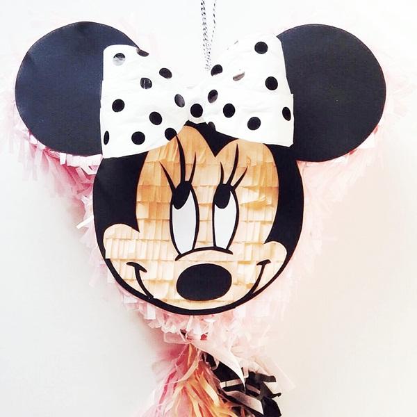 Piñata personalizada de la Minnie Mouse