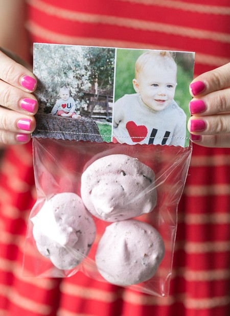 Etiquetas con fotos para tus bolsas de galletas