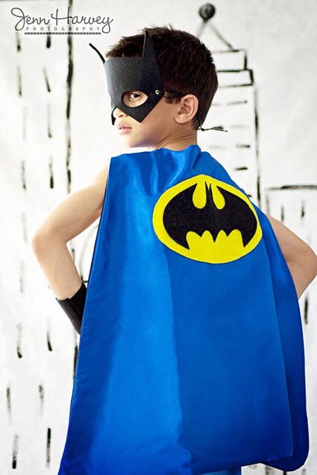 Disfraz casero de batman