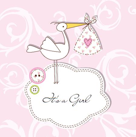 tarjeta bautizo niña gratis