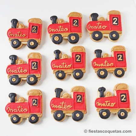 Galletas locomotora vintage