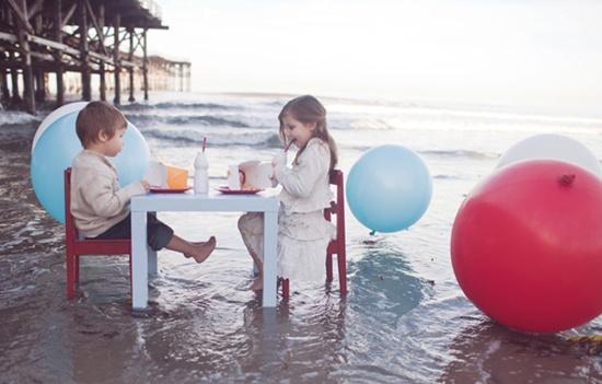 Una Bonita Fiesta Infantil en la Playa