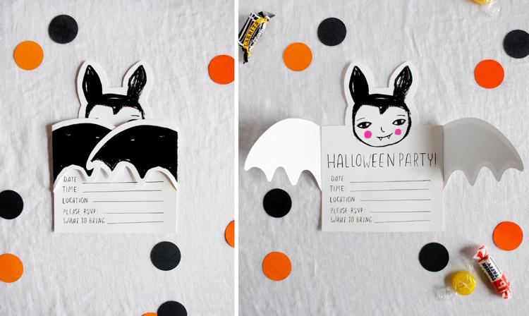 Kit imprimible de halloween