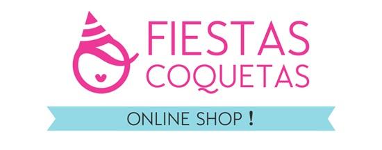 Logo shop fiestas coquetas