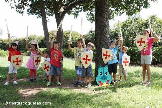 La fiesta de caballeros de otto en el parque fiestas - Como hacer un parque infantil ...