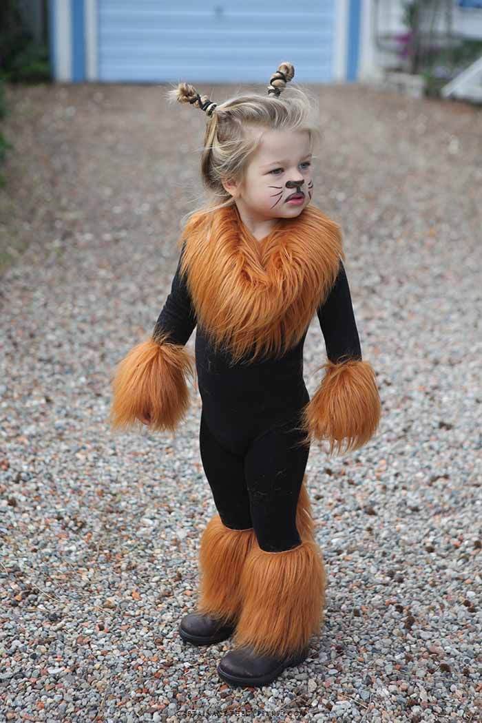 Disfraz casero de león