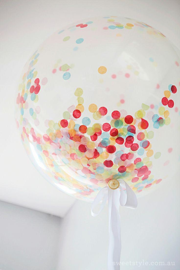 Globos transparentes de venta en: http://shop.fiestascoquetas.com