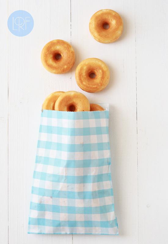Mini donuts de queso de la receta de la felicidad
