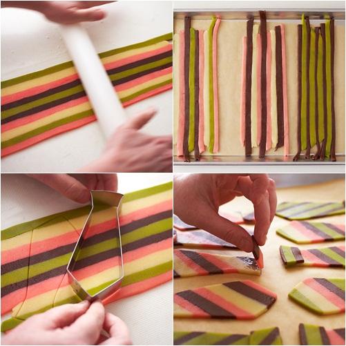 Cómo hacer galletas con forma de corbata