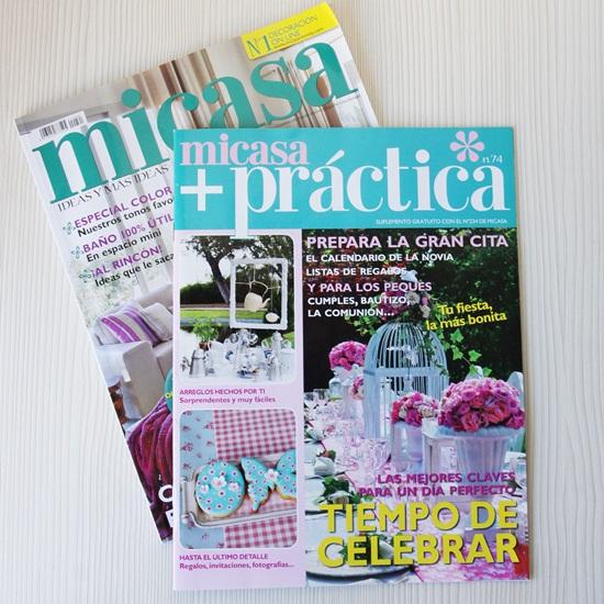 Revista Micasa especial celebraciones