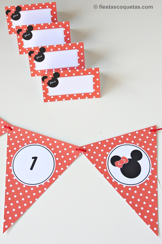Fiesta Infantil De La Minnie Mouse Personalizada Fiestas