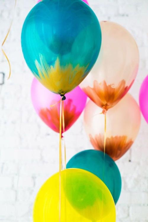 c mo pintar globos para decorar tus fiestas fiestas