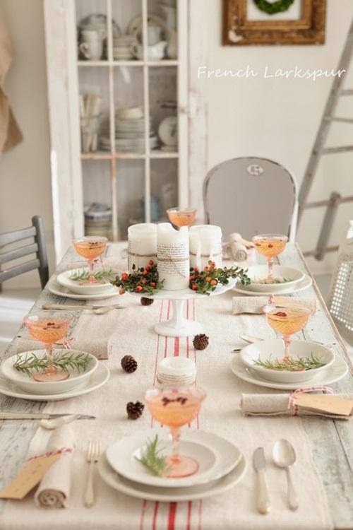 Una mesa de navidad al estilo n rdico fiestas coquetas blog - Decoracion de mesa en navidad ...